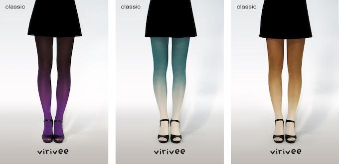 Virivee classic ombre tights
