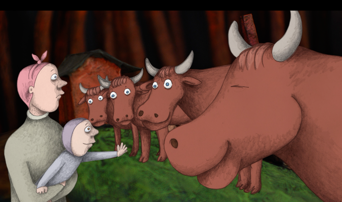 A child's life depends on cow milk: the magic of Cowcium!