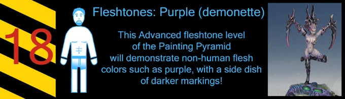 I always have fun painting my purple flesh, spotted demonettes!