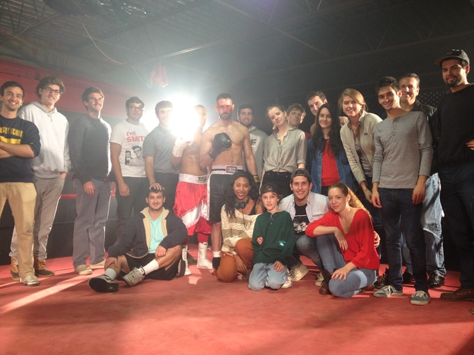 "The crew and core cast of ""Round Six"""