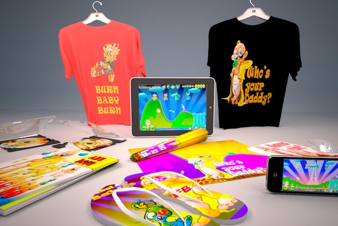 Some products that will be available in our future webstore.