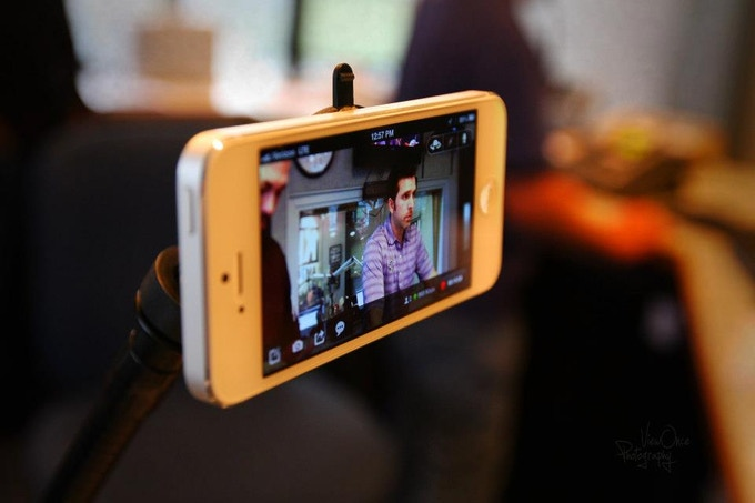 Podcasting a Live Show with iPhone