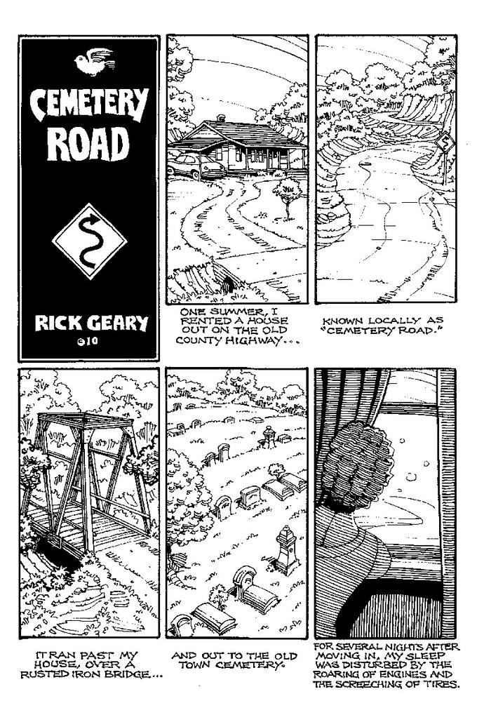 Cemetery Road by Rick Geary