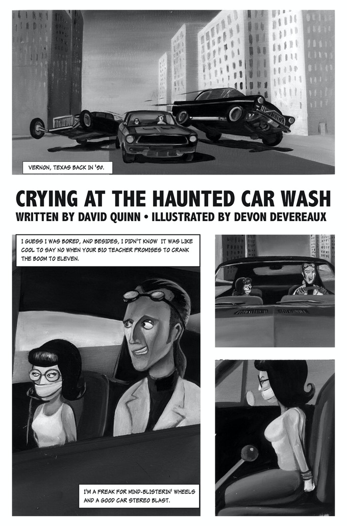 Crying at the Haunted Car Wash by David Quinn and Devon Devereaux