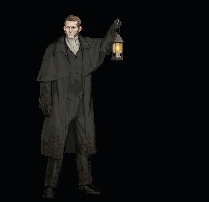 Costume Design for Nicholas Grimshaw