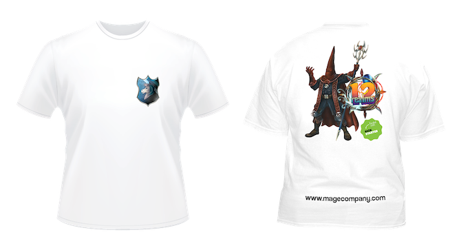 b356cafe5d0c63 You can get both t-shirts for  30 (save  4). Each t-shirt includes shipping  fees with your pledge of 12 Realms Games. If you want to get just the  t-shirts ...