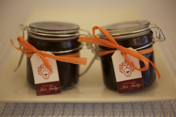 Our chocolate sauce