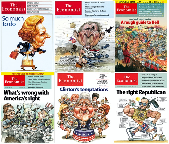 Prints and original artwork from The Economist are available to supporters as rewards