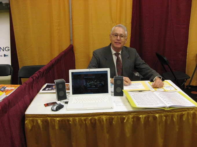 Randy Moore at American Music Therapy Association Conference