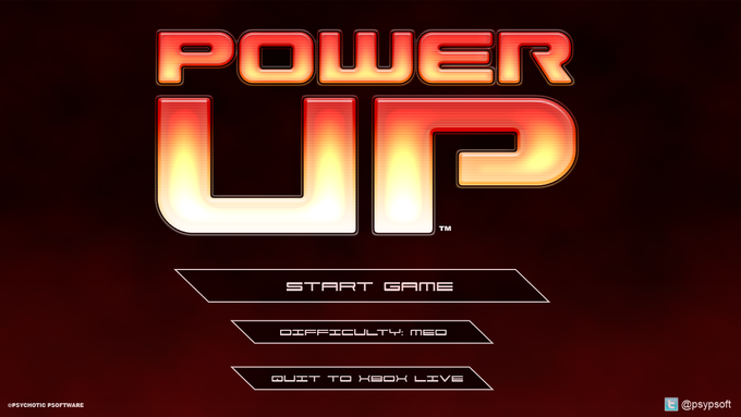 """Still not convinced? Tell you what, give this pic a click and check out my first Power Up trailer - """"One Man, One Year""""."""