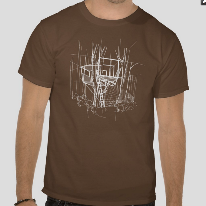 The Treehouse Sketch T-Shirt