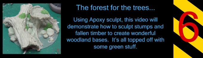Create a nice forest setting for all those skinny guys with the pointy ears...