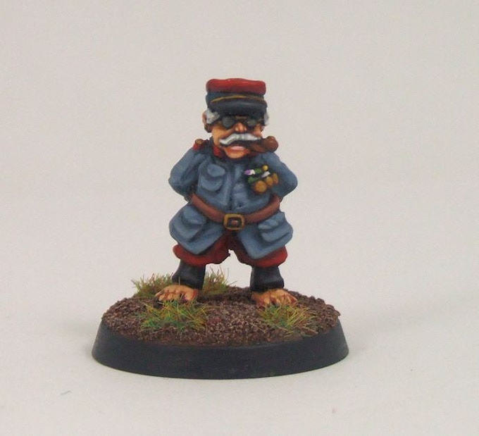 French General painted by Shakespeare Studio
