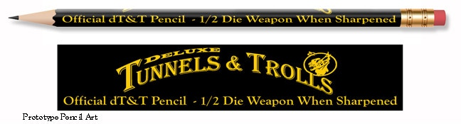 The new dT&T 1/2 die weapon pencil