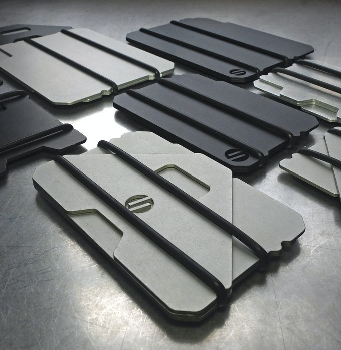 A COMPLETE LINE OF DURABLE, MINIMAL AND CONCEPTUALLY SOUND WALLETS