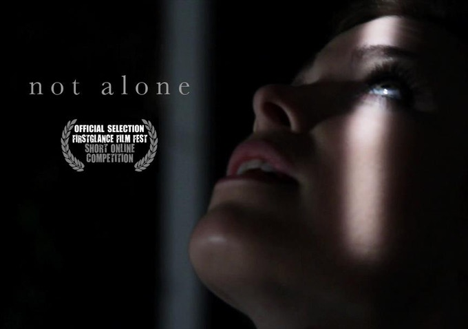 "One-sheet for the director's last short film ""Not Alone."" ""G.P.S."" is a spinoff of Not Alone. Actress Michelle LaRue is reprising her role."