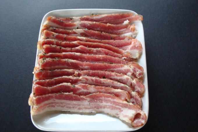 Delicious Homemade Bacon