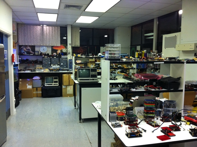 """A recent photo of """"The Laboratory""""."""