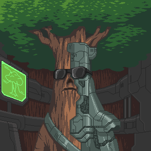 Come on, you have to admit that tree cyborgs are awesome!