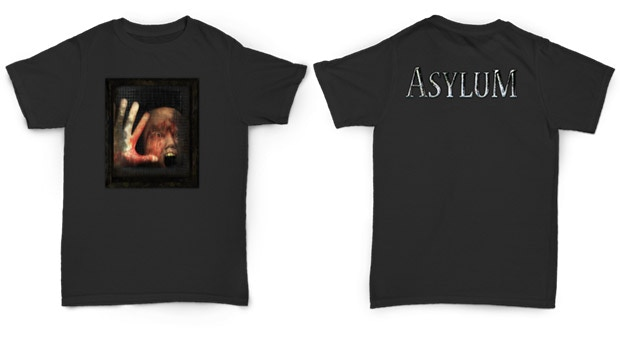 Impress your family and friends with the Senscape-approved Asylum T-shirt! Show to the world what a sane person you are!