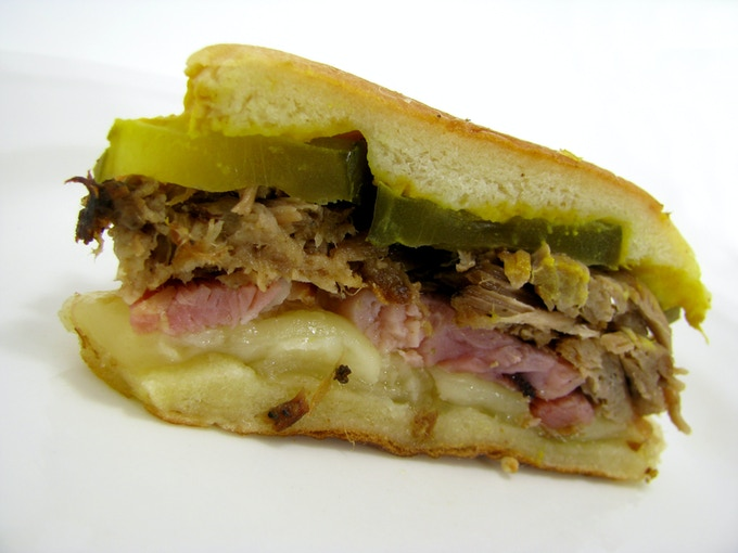 Mini Medianoche Sandwich.  MMMmmmmm