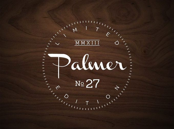 LIMITED EDITION Palmer 8in x 12in Poster. Reward - $20