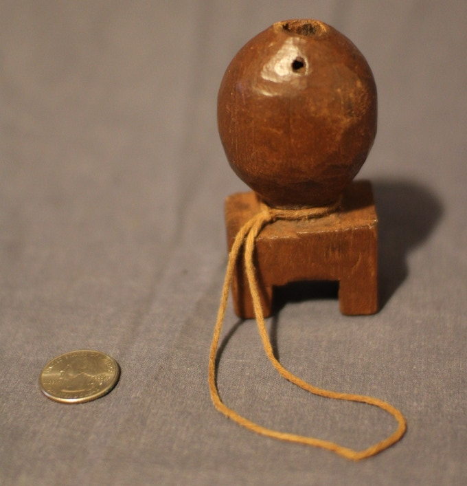 Mimby, musical instrument made by local Shaman.