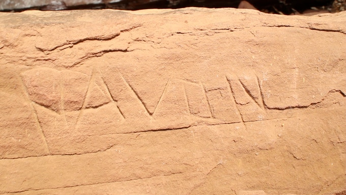 Lack of awareness about the importance of the inscriptions leads to vandalism by local people.