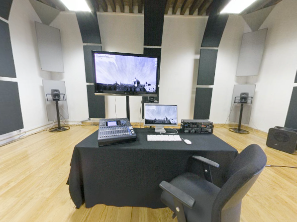 Multimedia studio at the CMMAS