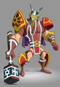 Sanon (God of War): Man Strong as a Rock