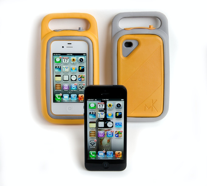 Case in base, face out and face in.  iPhone 5 says I want a mentalKase too!