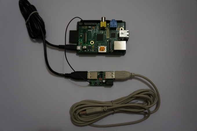 Pi Supply Connected to Raspberry Pi