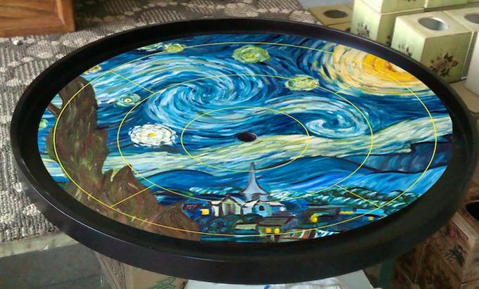 Starry Starry Night Board
