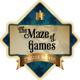 Maze of Games Puzzle Solver badge