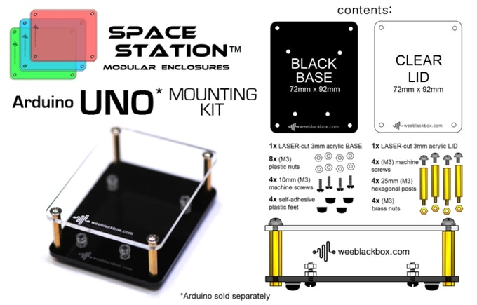 UNO Space Station Kit.