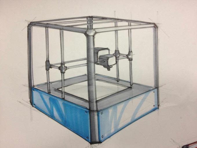 Rigidbot 3d Printer By Michael Lundwall Kickstarter
