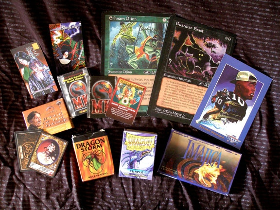 Card games in which Ken's art has appeared