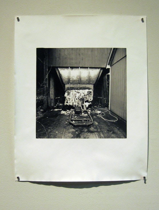 Gelatin Silver Photograph by Current Space Community Darkroom co-founder and MICA MFA candidate Patrick Galluzzo