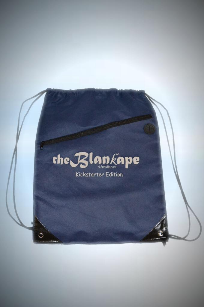 Kickstarter Edition Drawstring Bag