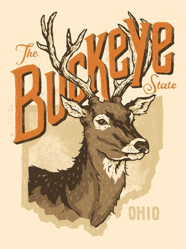 The Buckeye State - Ohio