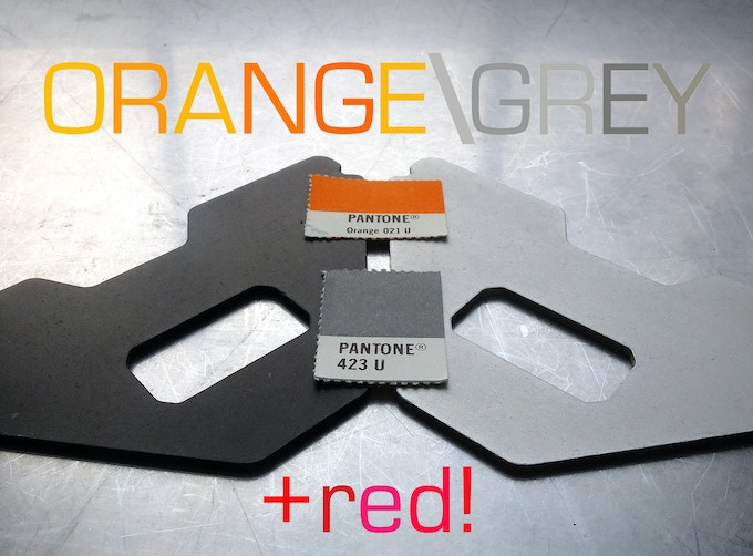 Stretch Goal achieved! new optional o-rings in orange and red (A3s) or grey (A2/A2+1) see updates for more details
