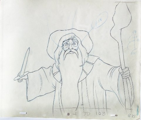 "Gandalf from ""Lord of the Rings."""