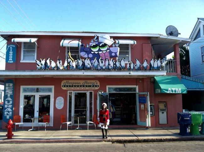 The Blob at Harpoon Harry's Restaurant in Key West, FL