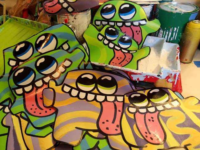 """Blob Wheatpaste Characters! (Approx. 12"""" to 16"""")"""