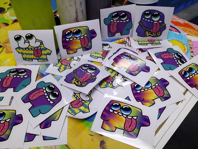 Blob Stickers!