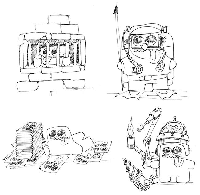 Blob Example Drawing No.1