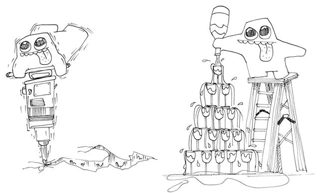 Blob Example Drawing No.2