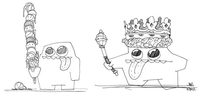 Blob Example Drawing No.3