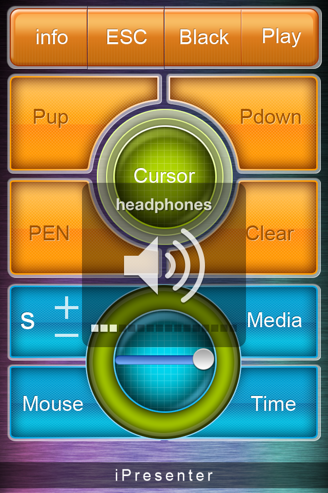 The app will set the audio output automatically.