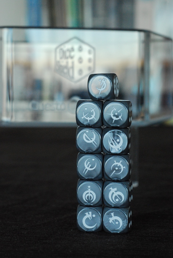 Eleven Collectable Dice for Mistborn